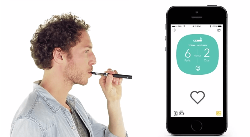 This 'Smart' E-Cigarette Tracks Your Vital Signs With Every Puff