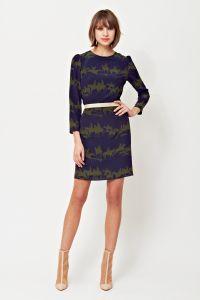 Printed dress, A/W 2014