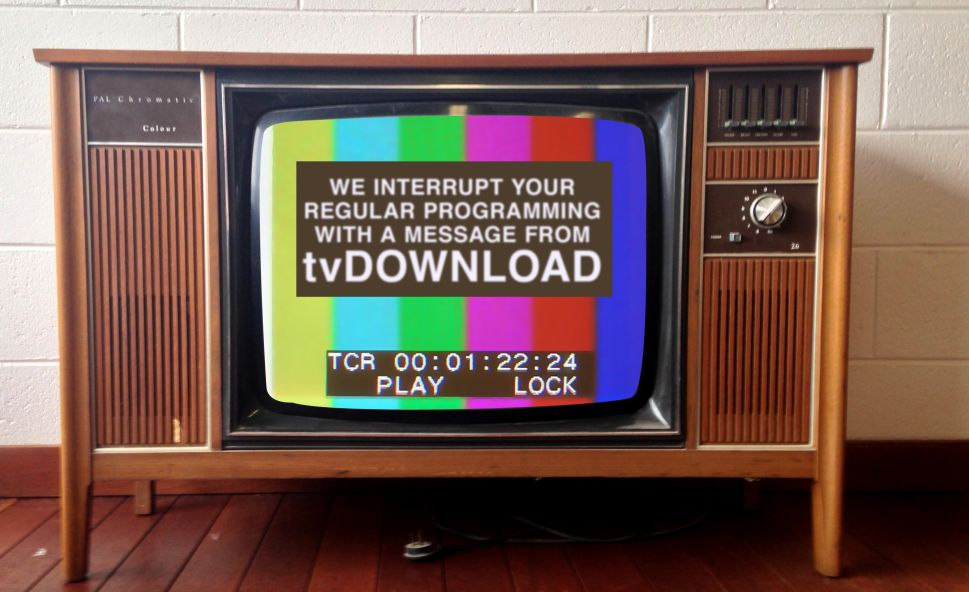 Tuned In And Logged On: Welcome to tvDownload