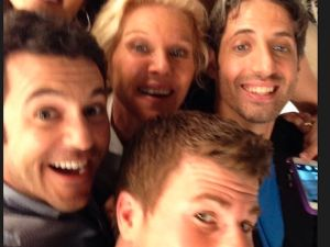 The cast of The Wonder Years. (NBC)