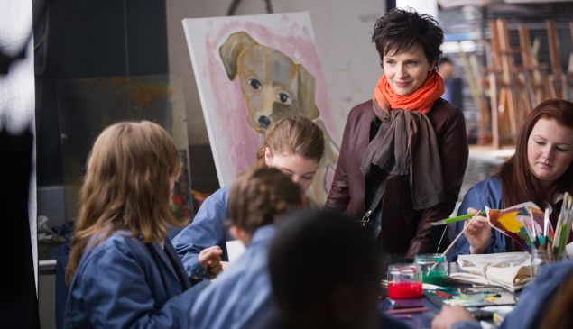 Juliette Binoche in <em>Words and Pictures</em>.