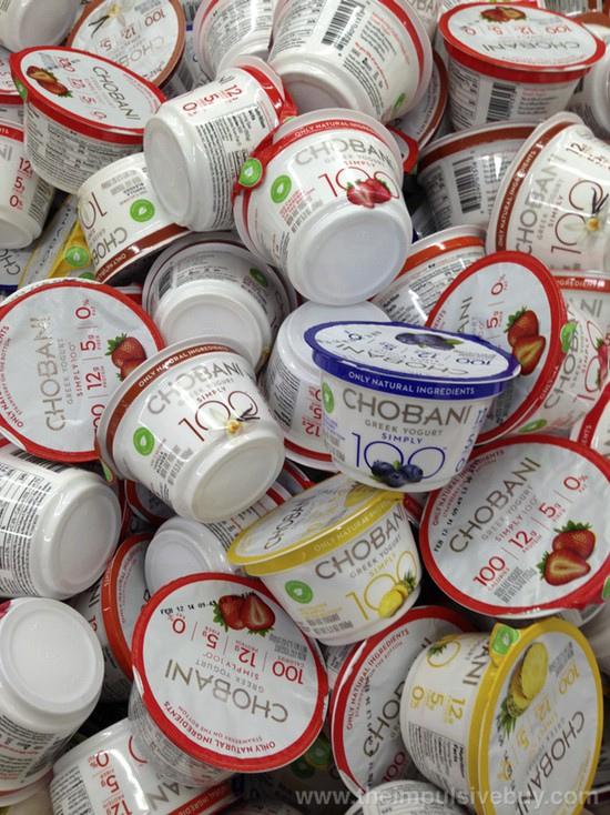 Chobani Greek Yogurt Sued For Being Junk Food Not Made in Greece