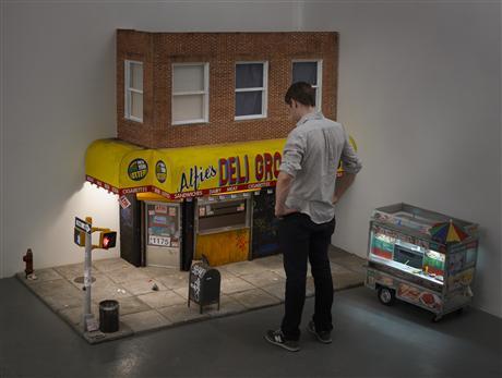 Honey, I Shrunk the Block: Brooklyn Artist Miniaturizes Street Corner