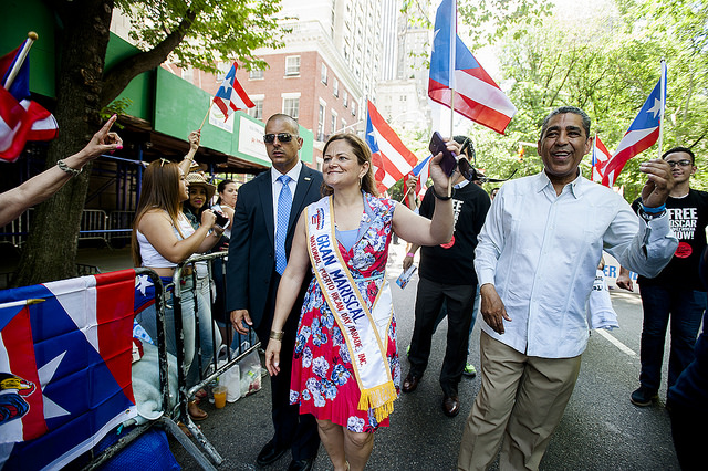 Espaillat and Mark-Viverito Rally in East Harlem