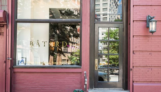 Bâtard: Dancing somewhere between the history of New York restaurants and what's to come. PHOTO: Francesco Sapienza
