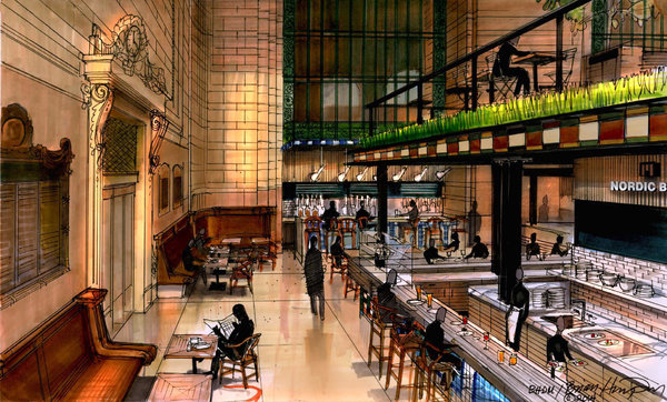 MTA Board Approves New Grand Central Food Hall