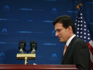 House Majority Leader Eric Cantor (R-VA). (Photo via Getty Images)