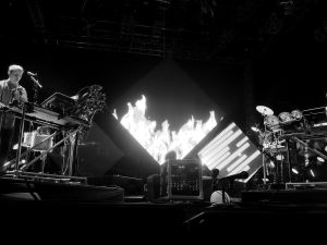 Disclosure plays at Coachella, 2014, where, unlike Output Brooklyn, photography is permitted. (Photo: Getty)