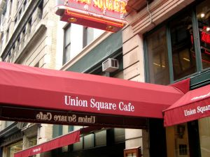 Union Square Cafe at its current East 16th Street location. (Photo: Robyn Lee)