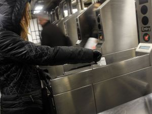 The spokesmen fought over the MTA capital budget. (Getty Images)