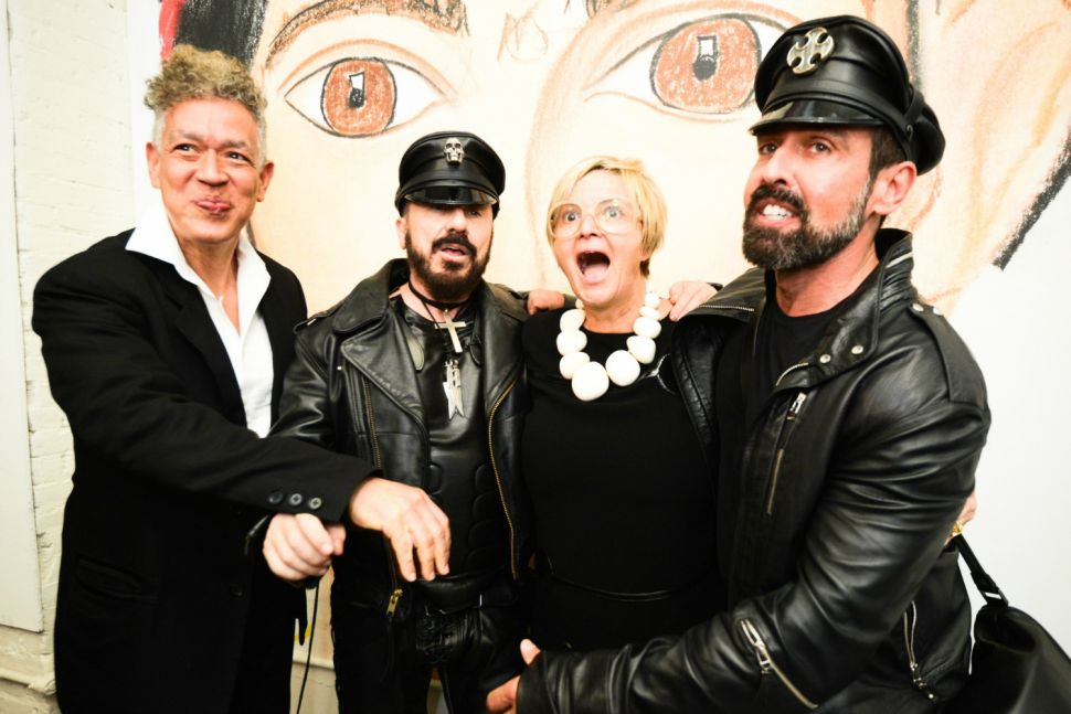 Remember You Well at the Chelsea Hotel: Princess Gloria von Thurn und Taxis Has an Art Show, Rides a Motorcycle