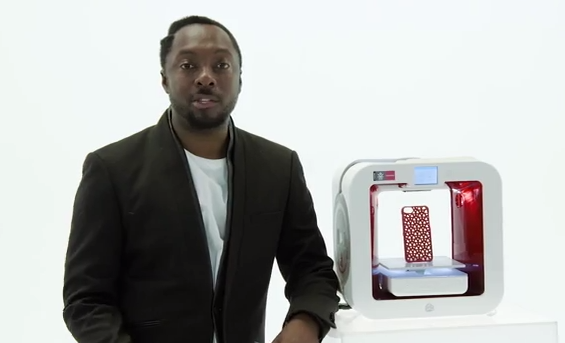 3D Printing Company Thinks Will.I.Am Can Convince People To Buy Its $1,200 Product