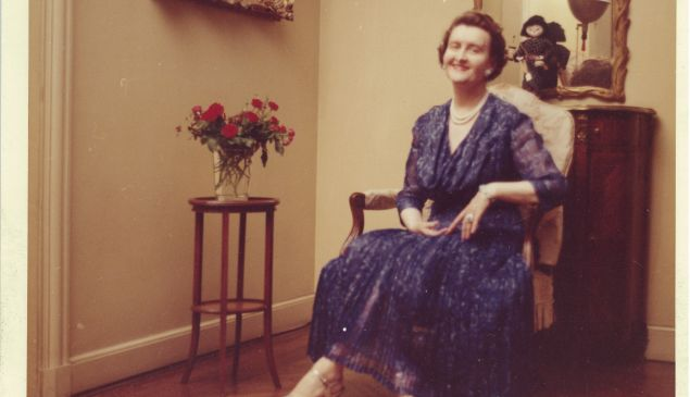 Huguette Clark, seated apparently at home. (Photo courtesy of the Estate of Huguette M. Clark.)