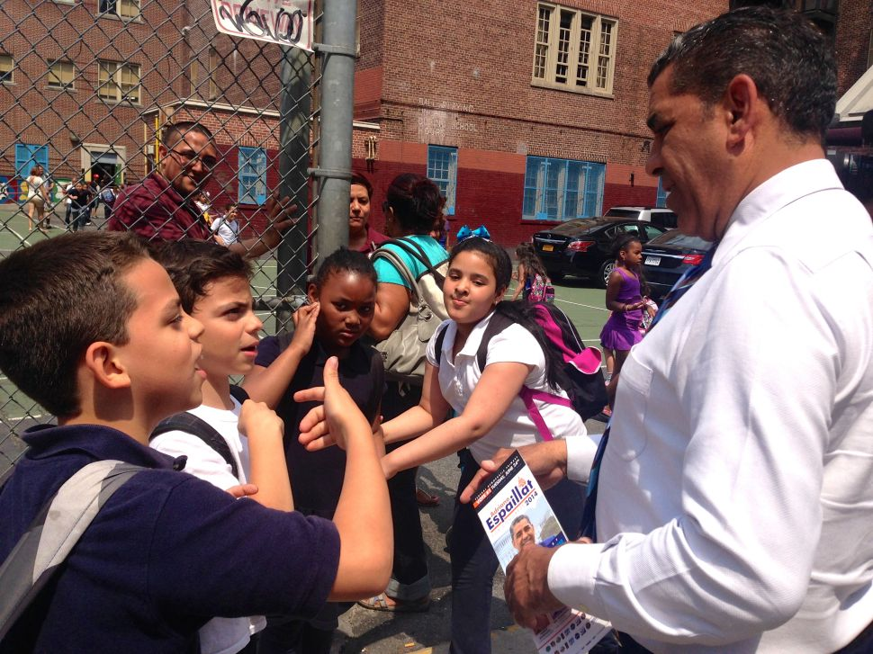 The Last 24 Hours of Adriano Espaillat on the Campaign Trail