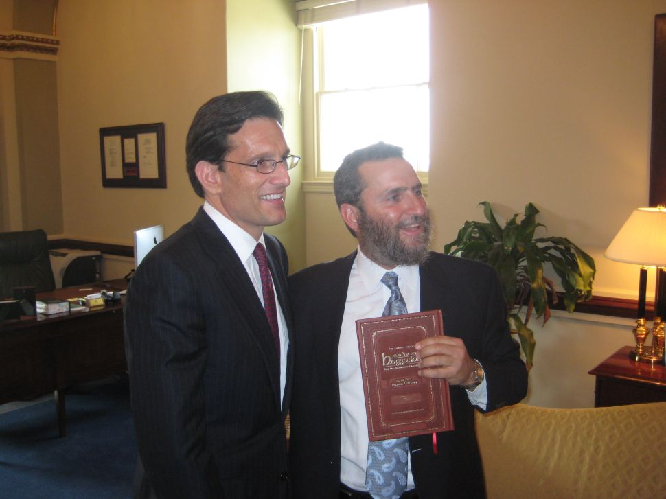 The Real Eric Cantor—Humble, Gracious and Thoughtful