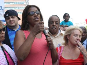 Public Advocate Letitia James. (Photo: Ross Barkan)