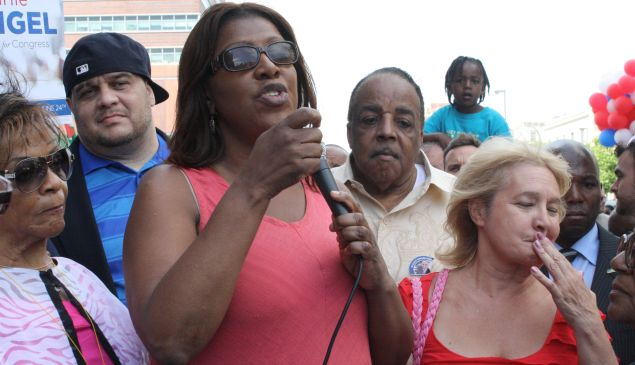 Public Advocate Letitia James. (Photo: Ross Barkan)