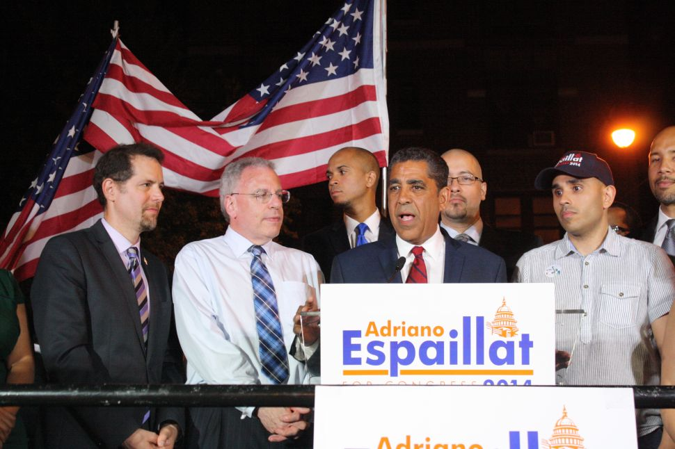 Adriano Espaillat Says He's Running for Congress Again