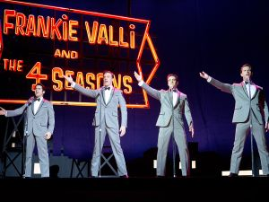 From left: John Lloyd Young, Erich Bergen, Vincent Piazza and Michael Lomenda.