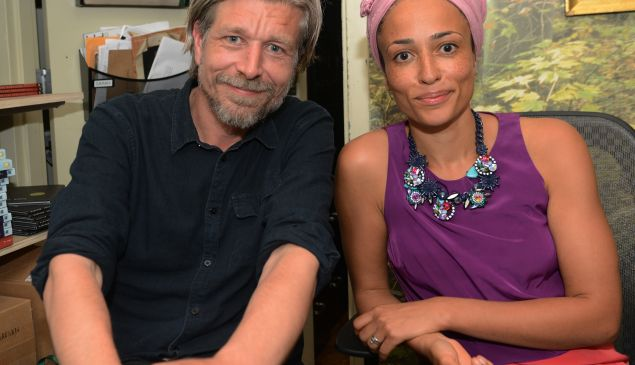 Karl Ove Knausgaard and Zadie Smith.