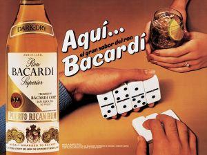 Jeff Koons, 'Aqui Bacardi,' 1986. (©Jeff Koons)