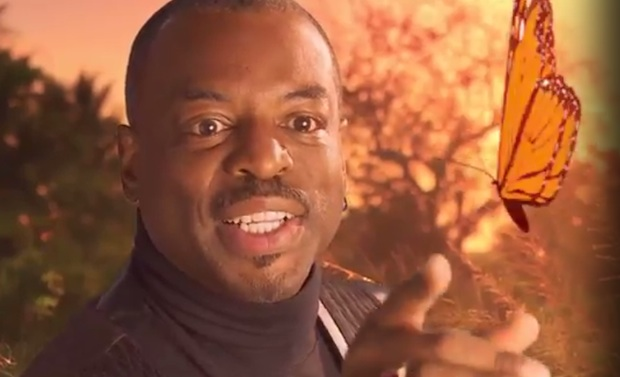 LeVar Burton Mad With Power in New 'Reading Rainbow' Video