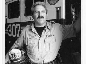 Portrait of Lt. Steven B. Reisman (Courtesy of FDNY)