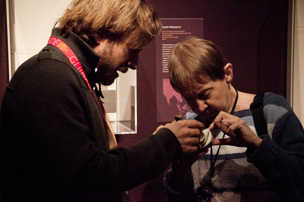 VIP Experience: Visually Impaired Persons See Art Through Sensory Tours