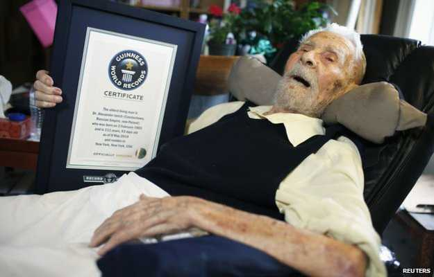 Upper West Side Resident Dies As World's Oldest Man at 111