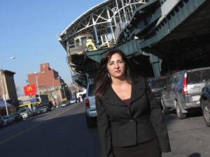 State Senator Diane Savino in Coney Island. (Photo: Savino Campaign)