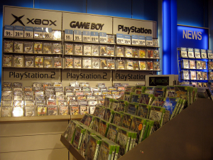 You could have more videogames than THIS. (Wikimedia Commons)