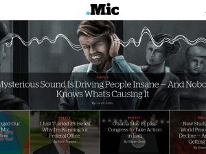 Mic.com, formerly known as PolicyMic.com