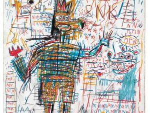 'Untitled' (1982) by Basquiat. (Courtesy Acquavella Galleries)