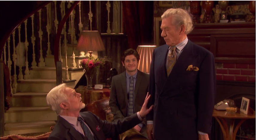 tvRoundup: Ian McKellen and Derek Jacobi Star as Gay Couple in 'Vicious' (video)