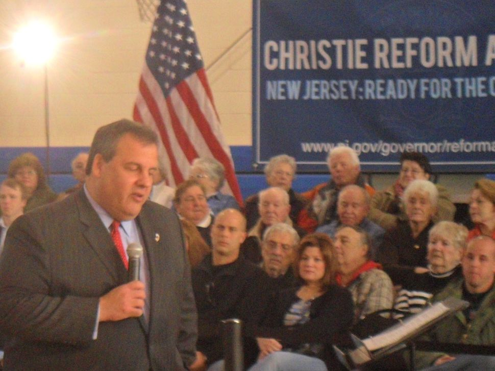 Christie won't join NJ to lawsuit opposing Prez healthcare reform