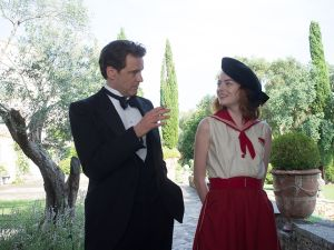 Colin Firth and Emma Stone in Magic in the Moonlight.