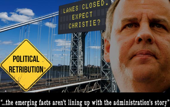 Democratic group with ties to Clinton targets Christie on GWB lane closures