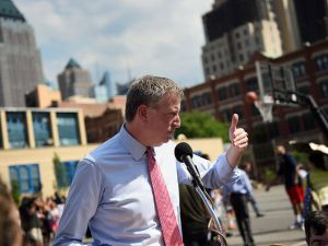 Mayor Bill de Blasio. (Photo: NYC Mayor's Office)