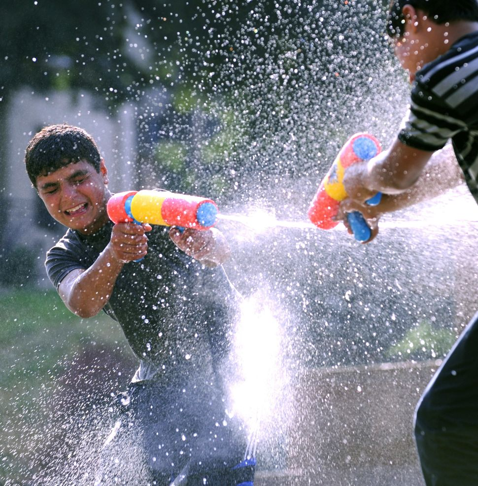 Park Officials Ban Water Balloons at This Year's Central Park Water Fight