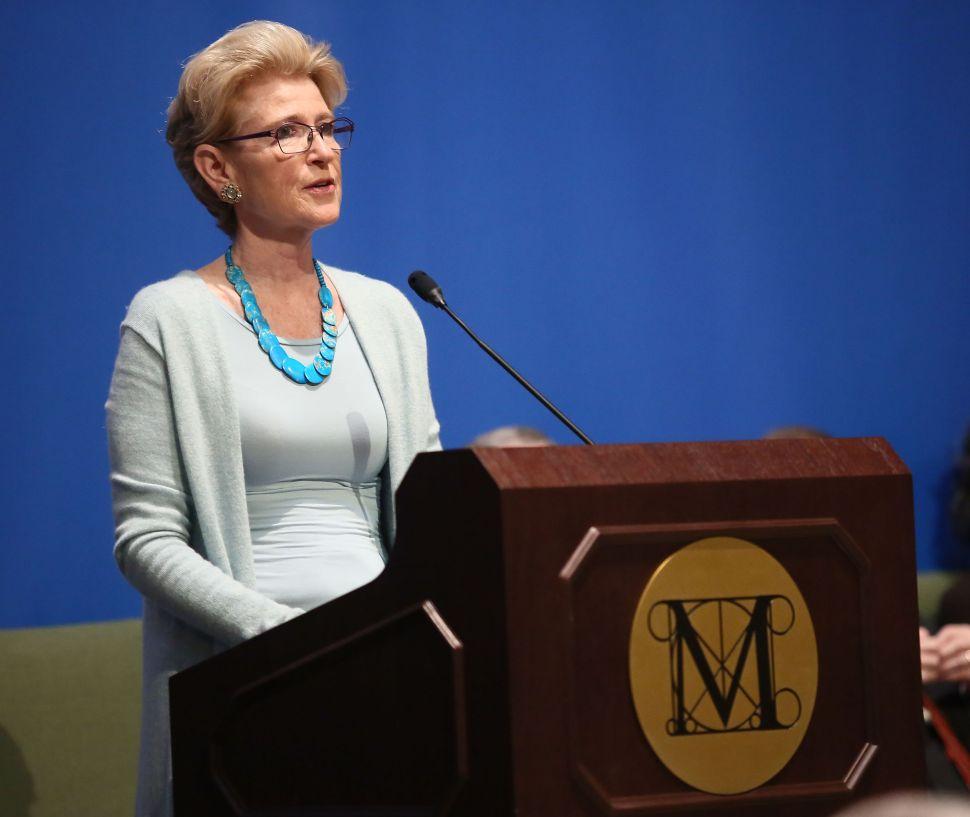 Emily K. Rafferty, President of the Metropolitan Museum of Art, Will Retire in 2015