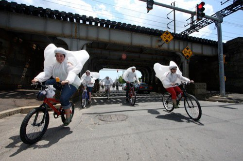 Costumed Bike Ride to Turn NYC Streets Into Art