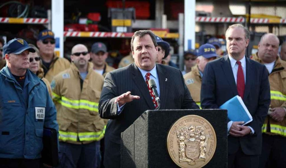 Christie: Flood areas need evaluation before federal relief