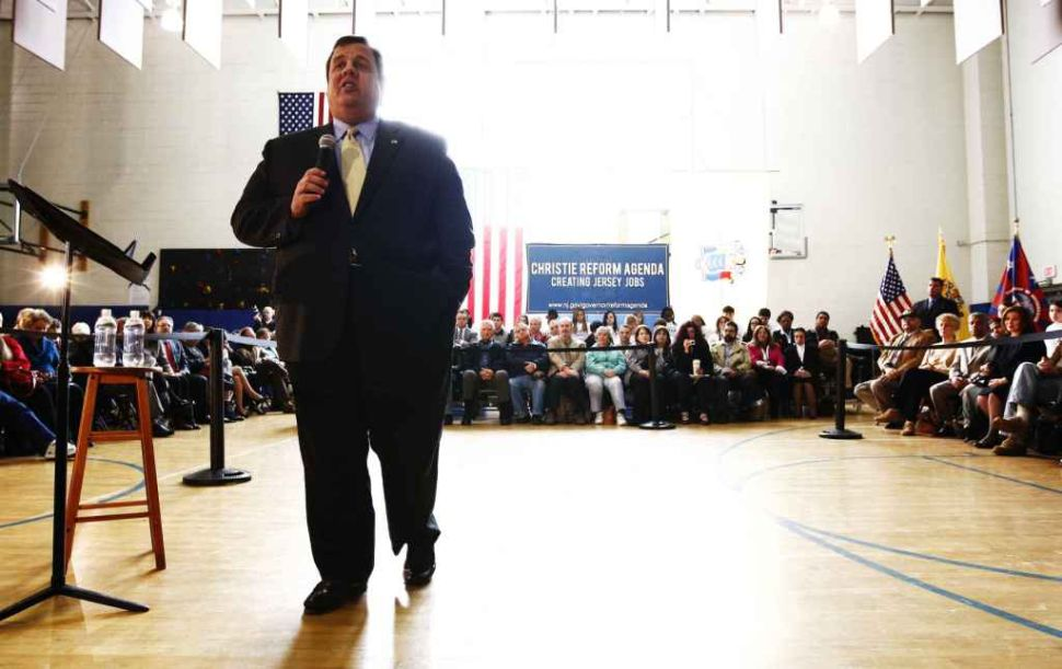 Christie calls Millionaire's Tax an attack on small business owners