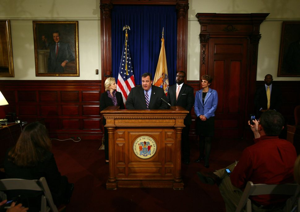 Christie on fracking, telecom deregs, and the politicization of revenue estimates