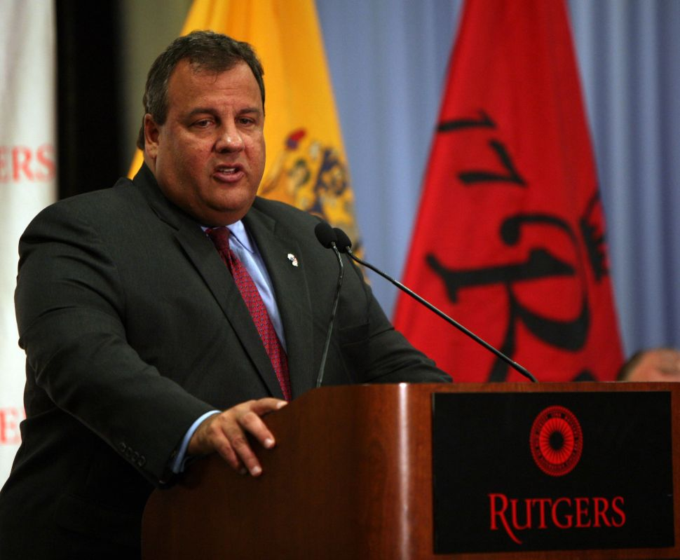 Christie reaffirms: New Jersey Comeback is going strong