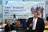 Christie at town hall doesn't dwell on revenue shortfall possibility