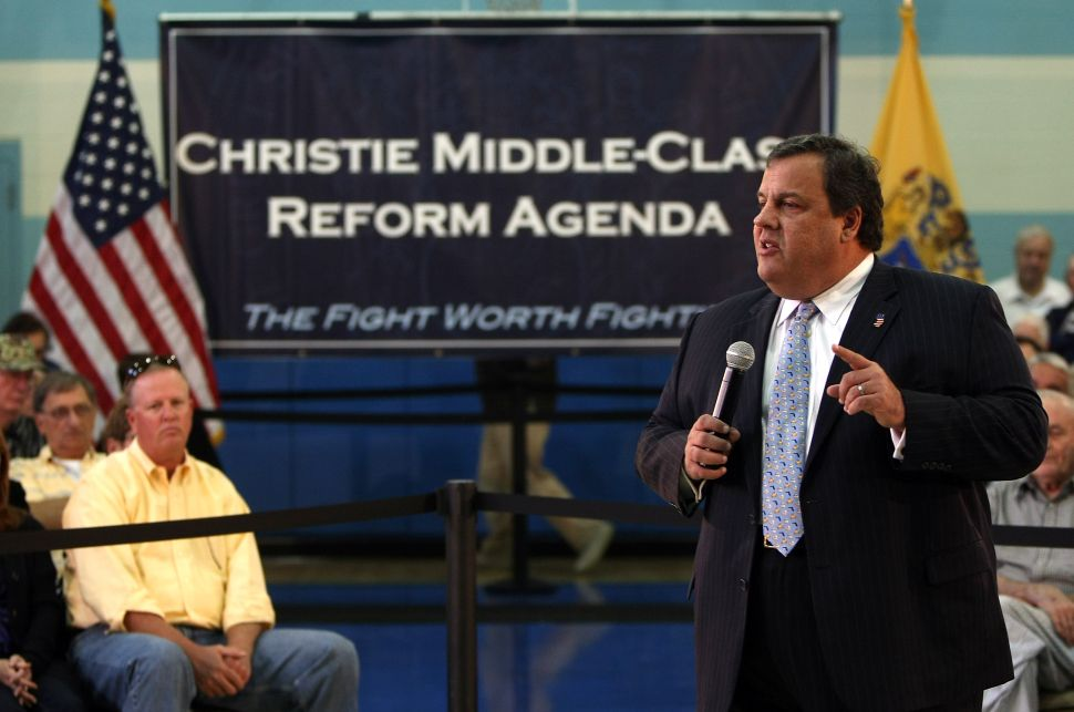 Christie: Ignore those who want N.J. to fail