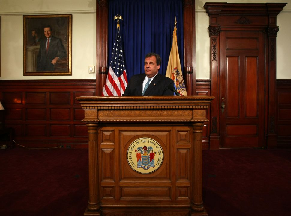 Christie announces Statehouse news conference