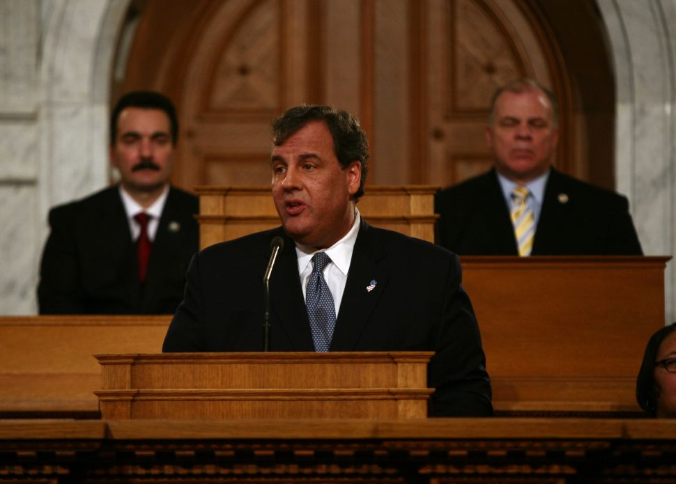 Christie urges additional pension reforms to combat state's 'looming crisis'