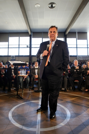 State Police instructed not to photograph Chris Christie town hall protesters